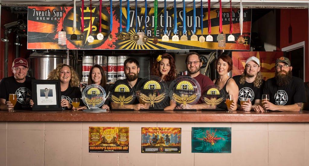7venth Sun Brewery - Awards